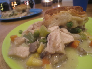 Chicken and Biscuit Pot Pie